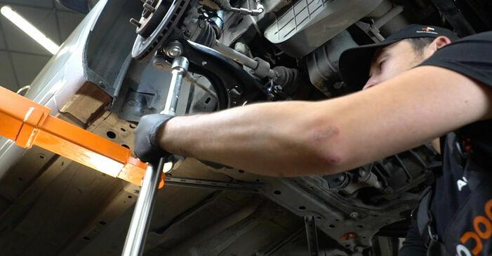 Fiesta Mk6 Schrägheck (JA8, JR8) 1.4 LPG 2019 1.4 TDCi Querlenker - Handbuch zum Wechsel und der Reparatur eigenständig
