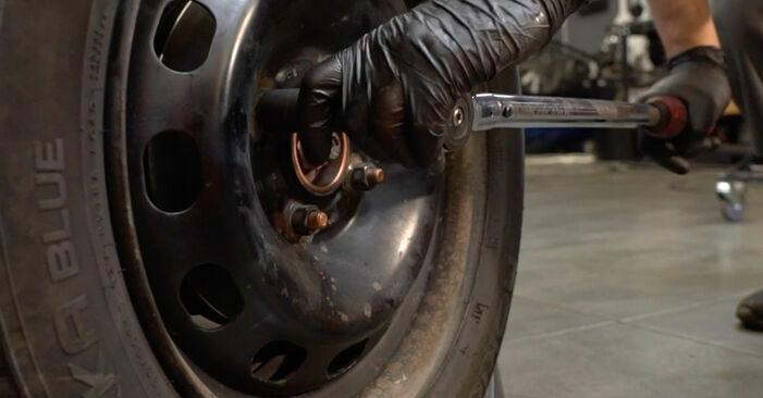 Querlenker Ford Fiesta ja8 1.6 TDCi 2010 wechseln: Kostenlose Reparaturhandbücher