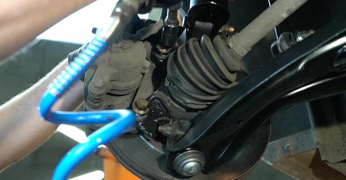 Fiesta Mk6 Hatchback (JA8, JR8) 1.4 LPG 2019 Rolamento da Roda manual de substituição de oficina por si mesmo