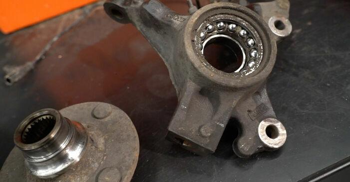 Como remover FORD FIESTA 1.4 LPG 2012 Rolamento da Roda - instruções online fáceis de seguir