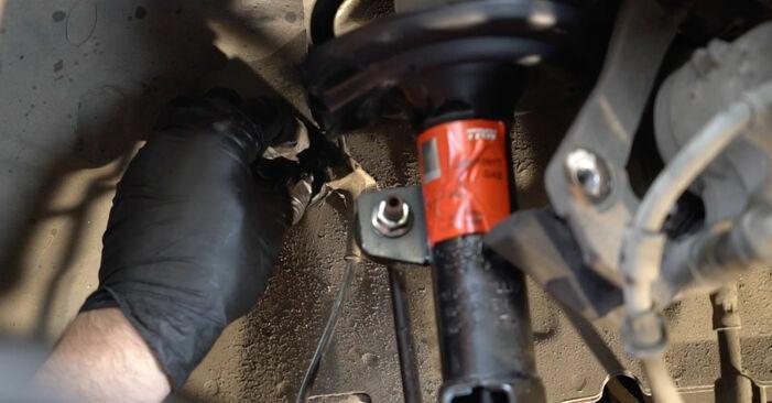 Como trocar Rolamento da Roda no Ford Fiesta ja8 2008 - manuais gratuitos em PDF e vídeo