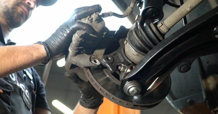 Trocar Rolamento da Roda no FORD Fiesta Mk6 Hatchback (JA8, JR8) 1.5 TDCi 2011 por conta própria