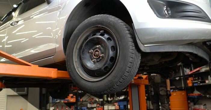 Como trocar Rolamento da Roda no FORD Fiesta Mk6 Hatchback (JA8, JR8) 2020 - dicas e truques
