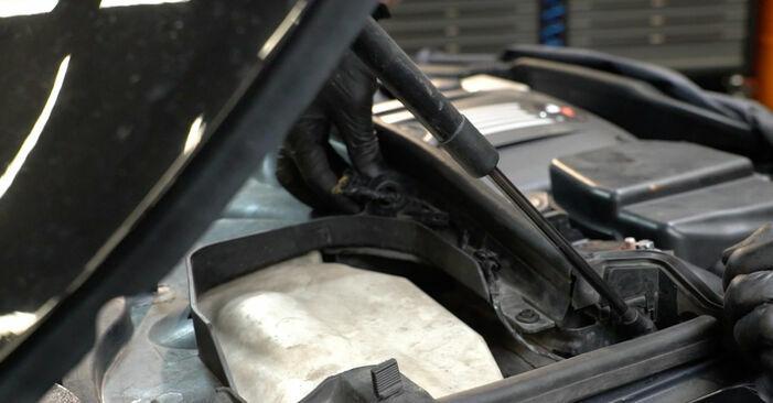 Wie schmierig ist es, selber zu reparieren: Zündspule beim BMW E82 120i 2.0 2007 wechseln – Downloaden Sie sich Bildanleitungen