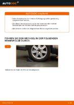 Stoßdämpfer wechseln VOLVO V50: Werkstatthandbuch