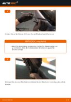 Montage Wischblattsatz OPEL ZAFIRA B (A05) - Schritt für Schritt Anleitung