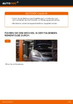 Luftfiltereinsatz Auto Ersatz auswechseln: Online-Handbuch für OPEL ZAFIRA