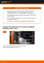 Wechseln von Bremsscheibe OPEL ZAFIRA: PDF kostenlos