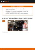 Comment remplacer le vérin à gaz du couvercle de coffre sur une Opel Zafira B A05