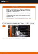Comment remplacer des disques de frein avant sur une Opel Zafira B A05