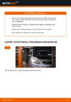 PDF udskiftnings manual: Bremseskiver OPEL bag og foran