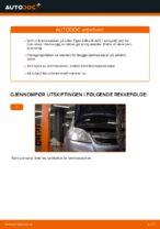 Hvordan bytte fremre bremseskiver på Opel Zafira B A05