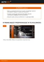 Jak wymienić klocki hamulcowe przedniego hamulca tarczowego w Opel Zafira B A05
