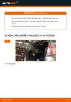 Jak vyměnit plynové vzpěry víka kufru na Opel Zafira B A05