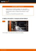 Jak vyměnit přední brzdové destičky kotoučové brzdy na Opel Zafira B A05