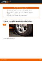 Jak vyměnit přední vzpěru stabilizátoru na Opel Zafira B A05