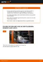 Wie der Austausch der hinteren Bremsscheiben bei einem Opel Zafira B A05 funktioniert