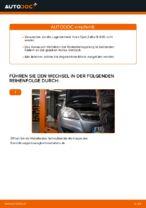 Wie Sie das hintere Radnaabenlager am Opel Zafira B A05 ersetzen