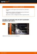 Schritt-für-Schritt-PDF-Tutorial zum Lagerung Radlagergehäuse-Austausch beim OPEL ZAFIRA B (A05)