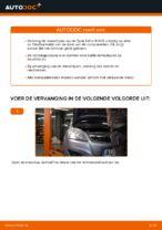 Hoe u de achterremschijven van een Opel Zafira B A05 kunt vervangen