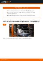 Hoe de achterste naaflager van een Opel Zafira B A05 vervangen
