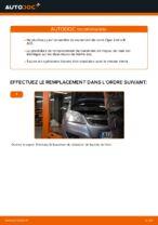 Comment remplacer le palier de moyeu arrière sur une Opel Zafira B A05