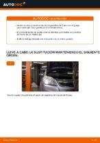 Cómo cambiar las pastillas de freno de discos delantero Opel Zafira B A05