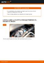 Cómo cambiar el cáliper de freno delantero en Opel Zafira B A05
