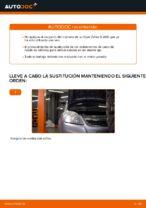 Cómo cambiar el rodamiento de cubo de la rueda delantera en Opel Zafira B A05