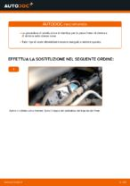 Come sostituire la pinza anteriore del freno su Opel Zafira B A05