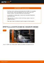 Come sostituire i dischi dei freni posteriori su una Opel Zafira B A05