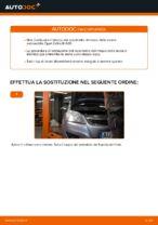 Come sostituire il cuscinetto del mozzo della ruota posteriore su Opel Zafira B A05