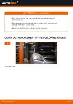 Manual PDF on ZAFIRA maintenance