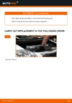 Step-by-step repair guide for TOYOTA AURIS