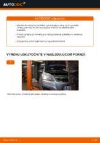 Ako vymeniť a regulovať Brzdové doštičky OPEL ZAFIRA: sprievodca pdf
