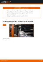 Jak vyměnit vzpěru předního tlumiče na autě Opel Zafira B A05