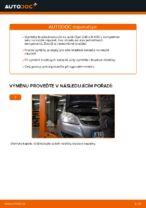 Jak vyměnit zadní brzdové kotouče na Opel Zafira B A05
