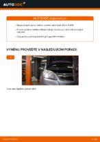 Jak vyměnit ložisko předního náboje na Opel Zafira B A05