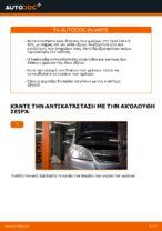 Πώς αντικαθιστούμε εμπρόσθιους δίσκους φρένων σε Opel Zafira B A05