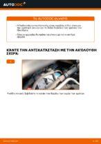 Πώς αντικαθιστούμε μπροστινή δαγκάνα φρένων σε Opel Zafira B A05