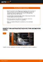 Πώς αντικαθιστούμε οπίσθιους δίσκους φρένων σε Opel Zafira B A05