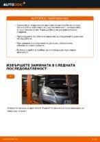 Смяна на задни и предни Комплект спирачни дискове на OPEL ZAFIRA: онлайн ръководство
