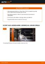 Kuidas vahetada ja reguleerida Soonrihm OPEL ZAFIRA: pdf juhend