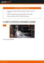 OPEL ZAFIRA B (A05) Olajszűrő beszerelése - lépésről-lépésre útmutató