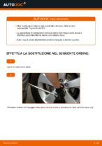 Come sostituire il cuscinetto del mozzo della ruota posteriore su Toyota Auris E15