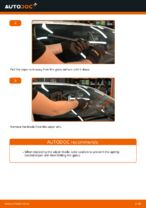 Free online instructions on how to renew Wiper blades on TOYOTA AURIS (NRE15_, ZZE15_, ADE15_, ZRE15_, NDE15_)