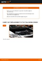 DIY TOYOTA change Shock Absorber rear and front - online manual pdf