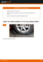 DIY manual on replacing Disk pads NISSAN X-TRAIL (T30)