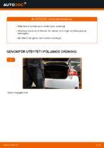 Så byter du bakre stötdämpare på Toyota Auris E15