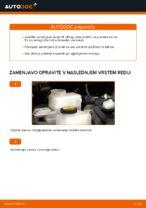 Kako zamenjati in prilagoditi Zavorne Ploščice TOYOTA AURIS: vodnik pdf